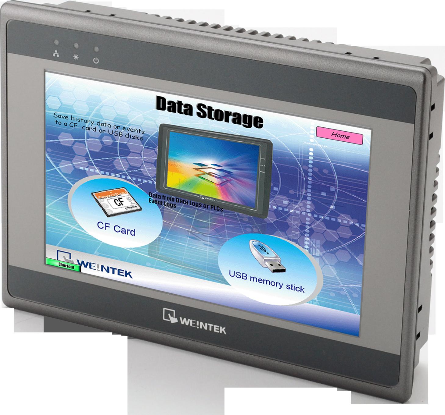 "weintek 7"" HMI HMI5070TH Rohtek with UL certificate, 600 MHz CPU and Ethernet port"